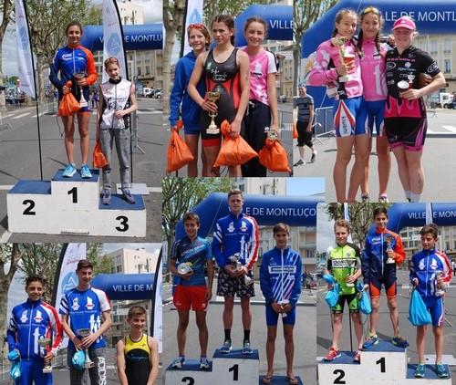 2017 Demi Triathlon Jeunes Montlucon 2