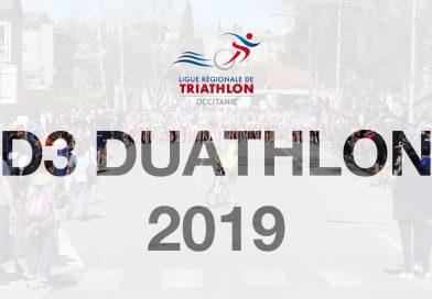 Classement D3 Duathlon 2019