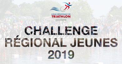 Résultats Challenge Régional Jeunes 2019