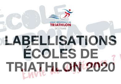 Labellisations Écoles de Triathlon 2020