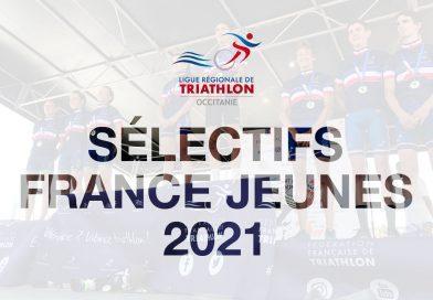 Liste des qualifiés pour les Championnats de France Jeunes d'Aquathlon 2021 – Pontivy