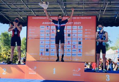 Ils l'ont fait ! Loris LALA Champion de France de Triathlon, Damien ANDRADA 2ème !