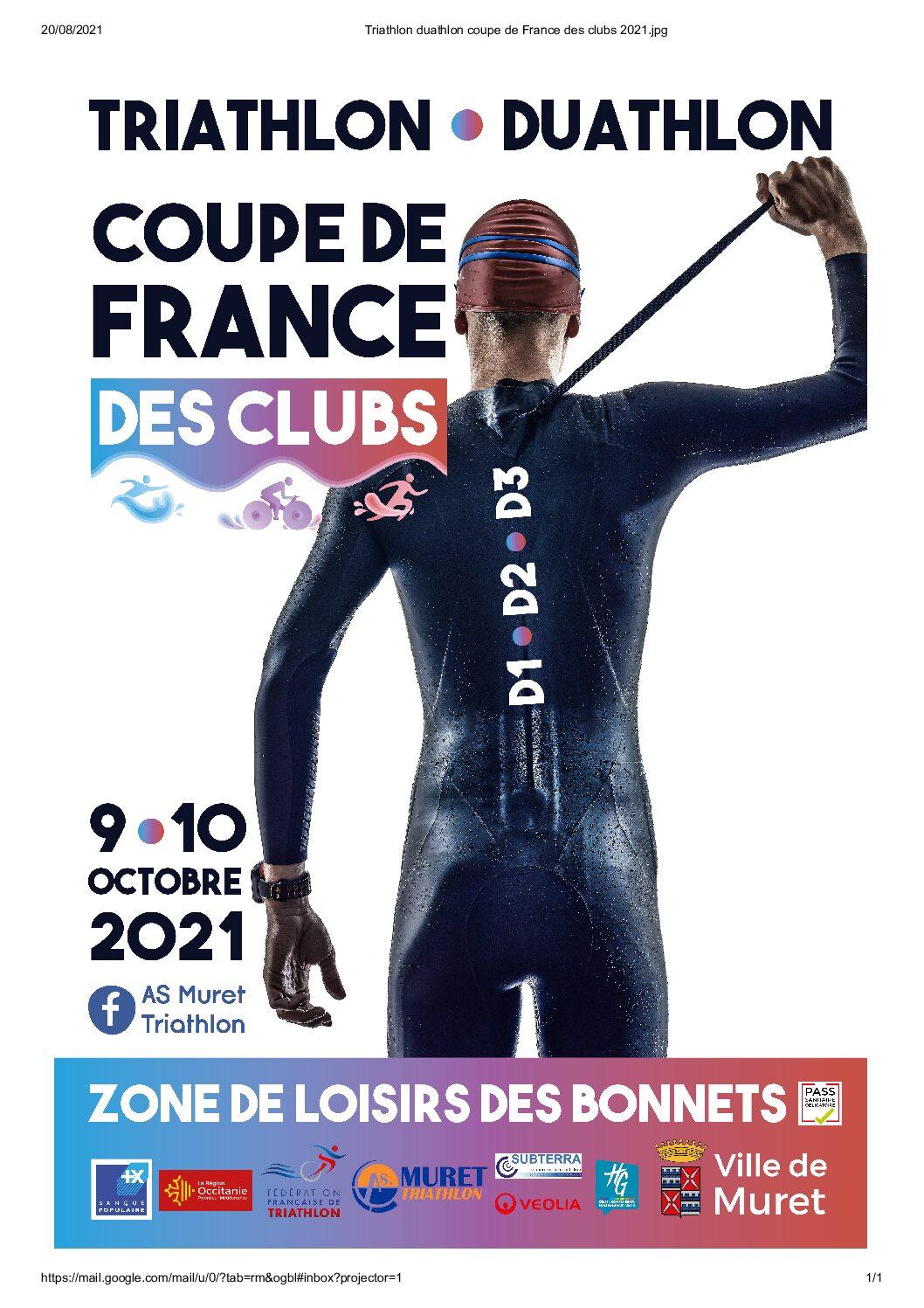Coupe de France des Clubs 2021 – MURET – 9 & 10 octobre